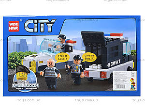 Конструктор «Полицейский транспорт», 85014, фото