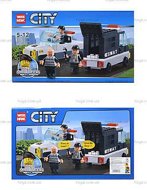Конструктор «Полицейский транспорт», 85014