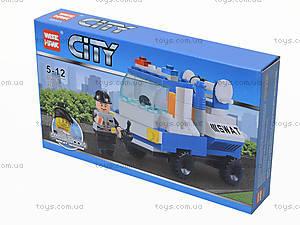 Детский конструктор «СITY» транспорт, 85003, фото