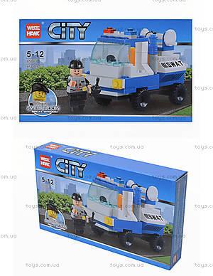 Детский конструктор «СITY» транспорт, 85003