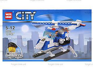 Конструктор для детей «Вертолет», 121 деталь, 85006, отзывы