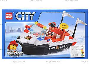 Детский конструктор «Патрульный катер», 89009, купить