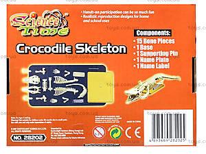Конструктор «Скелет крокодила», 28202-EC, детские игрушки