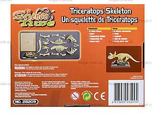 Игрушка-конструктор «Трицератопс», 28209-EC, купить