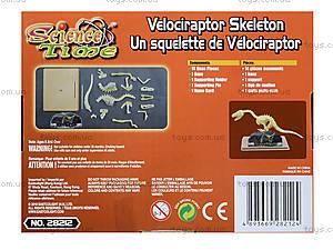 Игрушка-конструктор «Велоцираптор», 28212-EC, цена