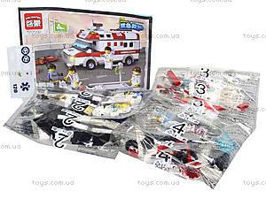 Детский конструктор «Скорая помощь», 328 деталей, 1118, фото