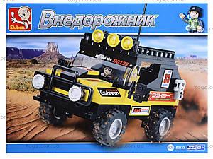 Детский конструктор «Внедорожник», 172 детали, M38-B0133B0134, фото