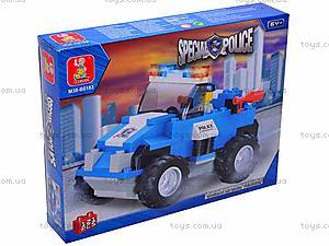 Конструктор SLUBAN «Полиция», M38-B0183