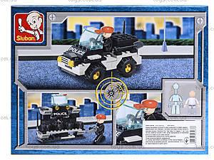 Конструктор SLUBAN «Полиция», M38-B800, фото