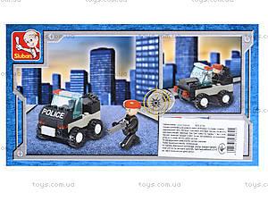 Детский конструктор «Полиция», 45 деталей, M38-B700, купить