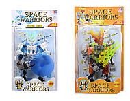 Конструктор «Space Warriors» в коробке, 998-67, фото