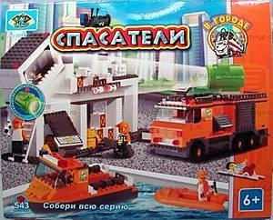 Конструктор «Спасатели», 543 элемента, 10227