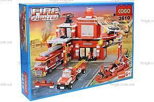 Конструктор «Спасательная техника», CG3610, магазин игрушек