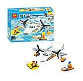 Конструктор Спасательный самолет из серии «Cities» (153 детали), 10751, купить