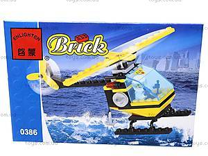 Конструктор «Спасательный вертолет», 0386, цена