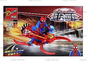 Детский конструктор «Спайдермен», 98069-1-6, игрушки
