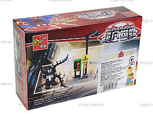 Детский конструктор «Спайдермен», 98069-1-6, детские игрушки