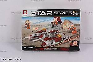 Конструктор STAR «Самолет», 155 деталей, 3809