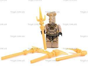 Конструктор «Космические воины», 10 видов, 9487, детский