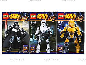 Конструктор «Герои серии Star Wars», 509510511512, отзывы