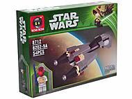 Конструктор Star Wars, 54 деталей, 8202-9A, детские игрушки