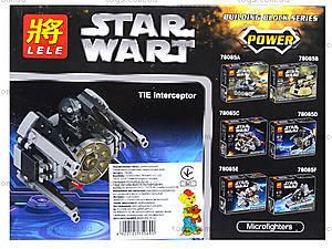 Детский конструктор «Звездный час», 6 видов, 78085
