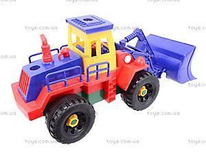 Конструктор «Стройтехника» для малышей, 9916AB, цена