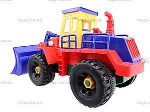Конструктор «Стройтехника» для малышей, 9916AB, игрушки