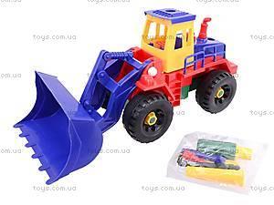 Конструктор «Стройтехника» для малышей, 9916AB, детские игрушки
