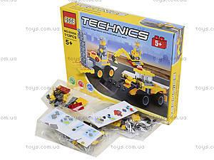 Детский конструктор «Строительная техника», 112 деталей, 60006, фото