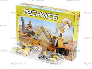Конструктор для детей «Строительная техника»,119 деталей, 60003, фото