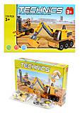 Конструктор для детей «Строительная техника»,119 деталей, 60003, отзывы