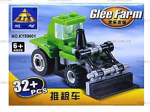 Детский конструктор «Фермерская техника», KY89001, цена