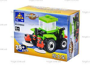 Конструктор для детей «Строительная техника», KY89002, купить