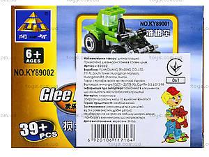 Конструктор для детей «Строительная техника», KY89002, цена