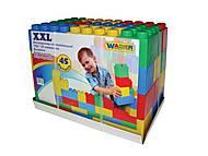 Конструктор строительный XXL, 45 элементов, 37510, купить