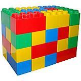 Конструктор строительный «XXL» 72 элемента, 41999, купить