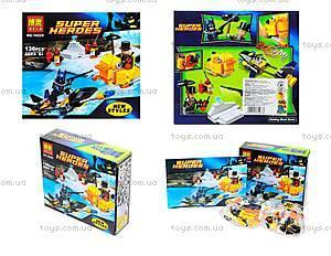 Детский конструктор «Супергерои» 136 деталей, 10225