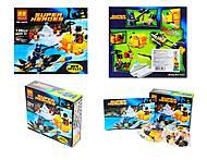 Детский конструктор «Супергерои» 136 деталей, 10225, отзывы