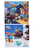 Конструктор «Super Heroes» 147 деталей, 10613, фото