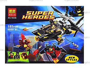 Конструктор «Вертолет Бэтмена» серии Super Heroes, 10226, отзывы