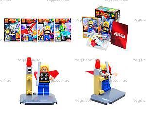 Конструктор для детей Super Heroes, 6 видов, 10242-10247
