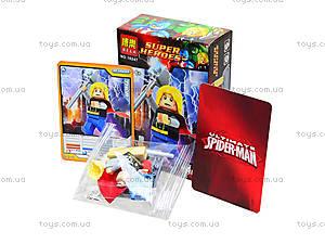 Конструктор для детей Super Heroes, 6 видов, 10242-10247, игрушки
