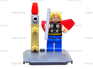 Конструктор для детей Super Heroes, 6 видов, 10242-10247, детские игрушки