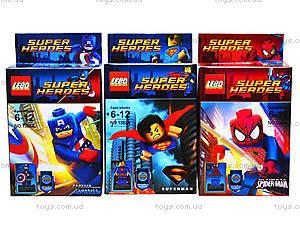 Конструктор Super Heroes для детей, 1381-1388, купить