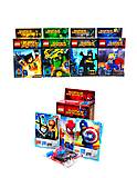 Конструктор Super Heroes для детей, 1381-1388, фото