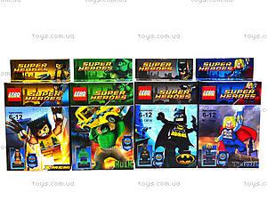 Конструктор Super Heroes для детей, 1381-1388, отзывы