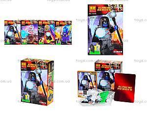 Детский конструктор Super Heroes, 10252-10255