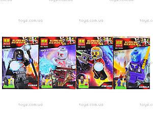 Детский конструктор Super Heroes, 10252-10255, отзывы