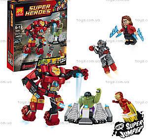Конструктор Super Heroes «Разрушительный удар», 79081A